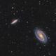 M81 & M82 - L[HaR]GB composition,                                Andrei