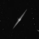Needle galaxy,                                Leo Dunkel