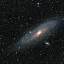 Andromeda M31,                                Chris Schaad