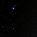 Empilhamento de 322 fotos Nebulosa de Órion e Cercanias.,                                Cicero Lopes Neto