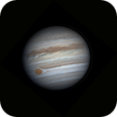 Jupiter 2018 rotation,                                Blueastrophotography