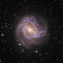 M83, Southern Pinwheel Galaxy (HaLRGB),                                Ruben Barbosa