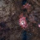 Lagoon - Trifid M8 - M20,                                Boutros el Naqqash