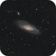 M106 With new newton UNC 200/800 ,                                Le Mouellic Guill...