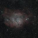 M8 - Lagoon Nebula,                                guvenozkan