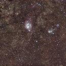 M8 et M20 dans le Sagittaire,                                Nickzo