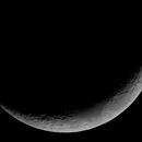 Moon 3 day's old on 26 april 2020,                                John van Nerum