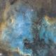 North American and Pelican Nebulae,                                toxik