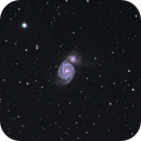 Messier 51 - A Lonely Duo in Canes Venatici,                                Florian Rünger