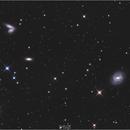 M85 et les galaxies siamoises,                                Castille Pierre-Olivier