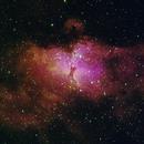 Eagle nebula,                                Jacek Szulc
