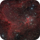Heart nebula with add. H-alpha done with DSLR,                                Jenafan