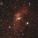 NGC7635 - Bubble nebula + M52,                                Tom914
