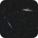 NGC 4631 and NGC 4656,                                Jenafan