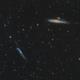 NGC 4631 and NGC 4656,                                Jenafan