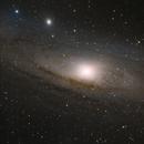 Andromeda lrgb,                                Mikael Wahlberg