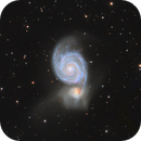 M51 Whirlpool Galaxy,                                Landon Boehm