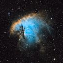Pacman Nebula (NGC 281) - SHO,                                dswtan