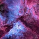 NGC 3372 in Natural Narrowband,                                Andy 01