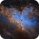 M16 - Eagle Nebula, Starless - NB,                                George Varouhakis