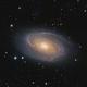 M81 Bode's Galaxy HaLRGB,                                  Ezequiel