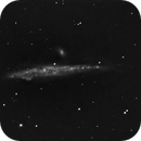 NGC 4656 (The Hockey Stick Galaxie) and NGC 4631 (The Whale Galaxie),                                Didier FOURNIL