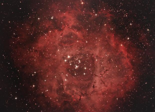 NGC2237,                                Grzegorz Fryń