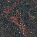 Part of the cygnus loop (3rd panel taken),                                nazarine