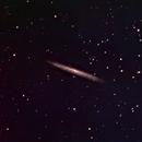 NGC 5906 - NGC 5907 Splinter Galaxy, Knife Edge Galaxy, Cat Scratch Galaxy,                                Albert  Christensen