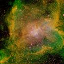 IC 1805 Heart Nebula HSO,                                Peter Bresler