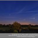 Saturn - Jupiter - moondog - Moon, Canon EOS 6D Mk2, 20200824,                                Geert Vandenbulcke