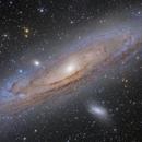 M31~Andromeda Galaxy,                                Fluorine Zhu