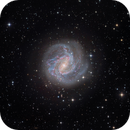 M83 the Southern Pinwheel Galaxy - V2,                                Arnaud Peel