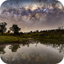 Setting Milky Way reflection,                                Andrew Murrell