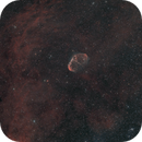 Crescent nebula - bi-colour - fairly widefield,                                Simon