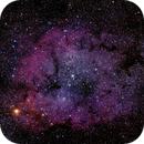IC 1396 Nebula Complex with Elephant's Trunk,                                Mat
