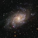 M33 - Triangulum Galaxy,                                Justin Jurgens