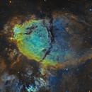 IC 1795 the Fishhead Nebula in Cassiopeia,                                Mark Wetzel