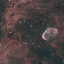 2018 - SUMMER - NGC6888 - HOO,                    Axel
