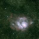 Lagoon Nebula,                                Justin_Fuller