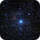 Gamma Cassiopeiae Nebulae IC 59 & 63 - Wide Field,                                gigiastro