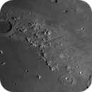 Moon from Plato via Vallis Alpes to Aristoteles and Eudoxus,                                Riedl Rudolf