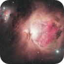 """Orion Nebula with Celestron RASA 11"""" and one-shot-color,                                Ray's Astrophotog..."""