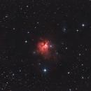 NGC 1579 Northern Trifid Nebula,                                Morris Yoder