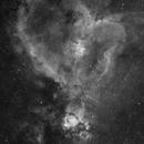 H-Alpha - IC 1805 - Heart Nebula,                                  Min Xie