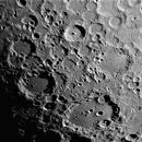 Tycho, Clavius - 2 minute capture 14,400 frames,                                turfpit