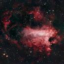 M17 Omega (Lobster) Nebula,                                James Lechleiter