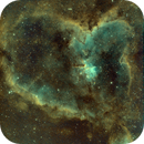 IC1805, Heart Nebula,                                Deepstar