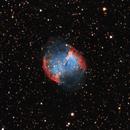 Messier 27 (The Dumbbell Nebula),                                WJM Observatory
