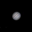 Jupiter, Io, and Europa on May 2, 2018,                                JDJ
